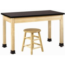 Diversified Maple Plain Apron Table