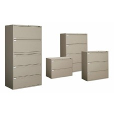 Global 9300 Series Fixed Front Lateral Files