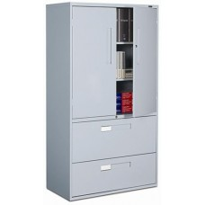 Global 9300 Multi-Stor Looped Full Pull Cabinet