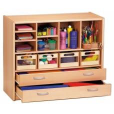 Gressco Timmy Shelf Cabinet with Drawers