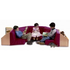 Whitney Brothers 5 Section Reading Nook