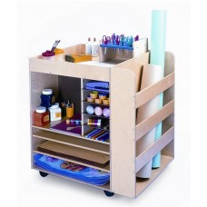 Whitney Brothers Mobile Art Supply Cart