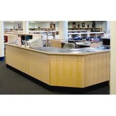 Brodart Matrix Circulation Desks