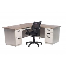 Columbia 9079 L-Shaped Desk