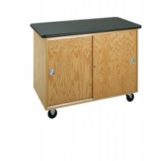 Diversified Woodcraft Mobile Storage Cabinet