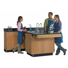 Diversified Woodcraft Perimeter Workstations