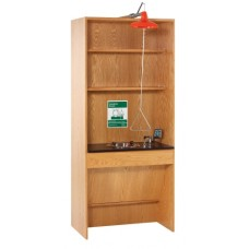 Diversified Woodcraft Shower/Eyewash Station ADA