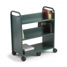 Smith System Gorilla Cart with Four Sloping Shelves and One Flat